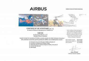 CertifIcat de atestare AHRO-2021